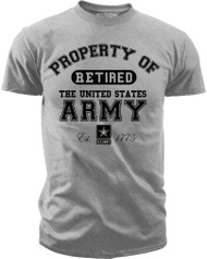 Property of the U.S. Army - Retired  Front