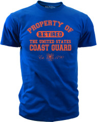 Property of the U.S. Coast Guard - Retired front