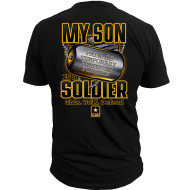 Men's My Son is a Soldier - back