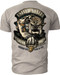 Men's Marines T-Shirt - USMC Release the Dogs of War - White - Back