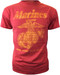"Men's Marines T-Shirt - US Marines Classic ""The Few The Proud"" - Red - Front"