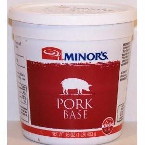 Minor's Pork Base (16 Oz.)