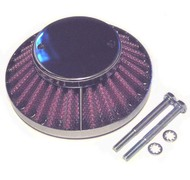 Air Filter - Low Profile Chrome