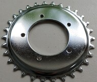 Chainring - Freewheel - 30 Tooth- Dished