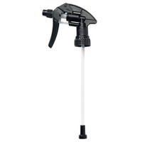 Canyon Black Chemical Resistant Spray trigger