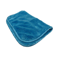 Microfibre Fluffy Towel Aqua