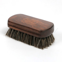 Premium Wood Handle Horsehair Leather brush
