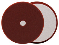BUFF AND SHINE Maroon URO-TEC Medium Cutting Pad for Long Throw DA