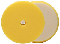 BUFF AND SHINE Yellow URO-TEC Light Polishing Pad for Long Throw DA Perfect for your Flex or Rupes