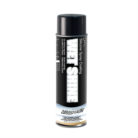 Nanoskin WET SHINE Clear Coating Spray - Aerosol
