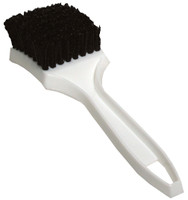 "8.5"" Carpet & Floormat Black Nylon Scrub Brush"
