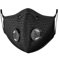 Reusable Face Mask with replaceable PM 2.5 Activated Carbon Filter