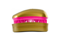 Dessata - Professional - Mini Detangling Brush - Gold-Fuchsia