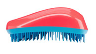 Dessata - Colours - Original Detangling Brush - Coral-Turquoise