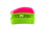 Dessata - Colours - Mini Detangling Brush - Fuchsia-Lime