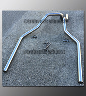 """97-03 Ford F-150 Dual Exhaust Tailpipes 3.0"""" Stainless"""