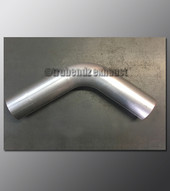 Mandrel Bend - 2.50 Inch OD Tube .065 wall - 65 Degree Aluminized