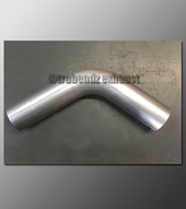 Mandrel Bend - 3.00 Inch OD Tube .065 wall - 65 Degree Aluminized