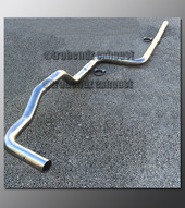 95-99 Dodge Neon Exhaust Tubing - 3.0 Inch Aluminized