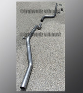 00-07 Ford Focus Exhaust Tubing - 2.5 Inch Aluminized