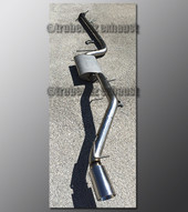 00-04 Ford Focus Exhaust - 2.25 inch Stainless with Borla