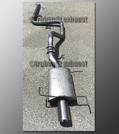 99-02 Infiniti G20 Exhaust - 2.25 inch Aluminized with Borla