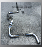 00-05 Dodge Neon Exhaust Tubing - 2.25 Inch Aluminized