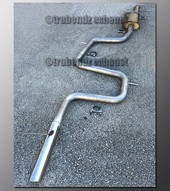 99-02 Mercury Cougar Exhaust - 2.5 inch Stainless with Magnaflow