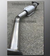 "05-07 Saturn Ion - Downpipe - 2.5"" Stainless - Catted"