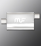 Magnaflow Muffler 11226 - Offset/Center 2.5 inch