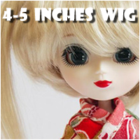 4 to 5 Inches Wig