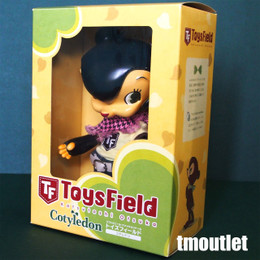 "ToysField Cotyledon Soft Vinyl Fashion Doll ""Black Casual"" As Is Condition"