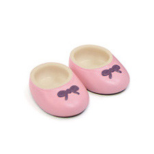 PetWORKs Closet - DecoNiki Shoes, Ballet Flats, Smoky Pink