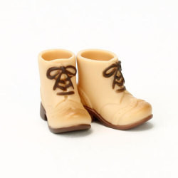 OBITSU BODY ACCESSORY - Obitsu Body 11cm Short Boots - Warm Beige