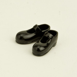 OBITSU BODY ACCESSORY - Obitsu Body 11cm Mary Jane Strap Shoes - Black