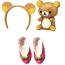 Licca Rilakkuma Accessories