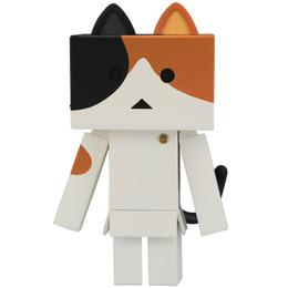 Kaiyodo Sofubi Toy Box 006A Nyanboard - Calico