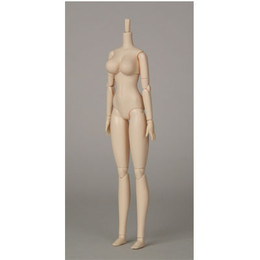 OBITSU BODY 27 W - 27cm Female SBH Soft Bust L-Size  (White Skin)