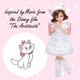 "Tokyo Disney Resort Fashion Doll - Marie from the Disney Film ""The Aristocats"""