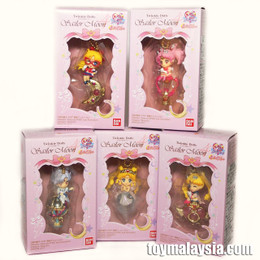 Twinkle Dolly Sailor Moon Part.4 - 5 Pcs Complete Set