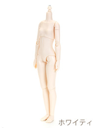 OBITSU BODY 24 W ver2 - 24cm Female S Bust (White Skin)