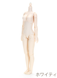 OBITSU BODY 24 W ver2 - 24cm Female L Bust (White Skin)