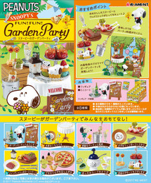 Re-Ment - Snoopy - Snoopy's Garden Party 8 Pcs Set