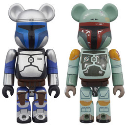 BE@RBRICK Star Wars Jango Fett & Boba Fett 2 Pack