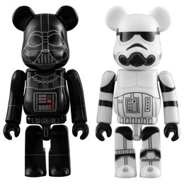 BE@RBRICK Star Wars Darth Vader & Stormtrooper  2 Pack