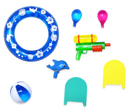 Kisekae Action!  Accessories #01: Water Play Set