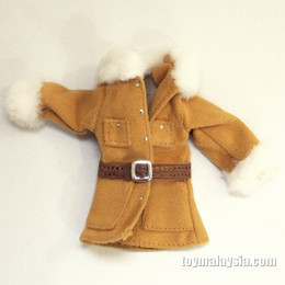 1/6 Open Front Winter Coat