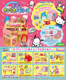 Re-Ment - Miniature Sanrio - Koisuru Sanrio Memories 8 Pack Box