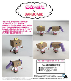 Lucky Star - Tsukasa & Kagami Danboard ver.