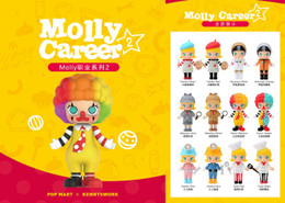 POPMART MOLLY Career Vol.2 12 Pcs Box